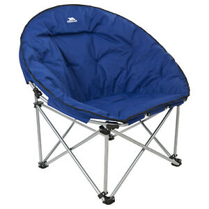 Trespass-Tycho-Folding-Moon-Chair-Round-Camping-Seat-Free-Next-Day-Delivery