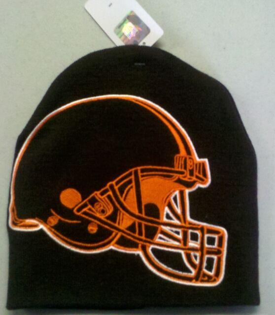 bfb4e897949d51 Cleveland Browns Knit Beanie Toque Winter Hat Skull Cap - BIG LOGO HYPE