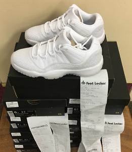 Nike Air Jordan 11 Ret  Low PR HC GG White-Pure Platinum 897331 100 AUTHENTIC