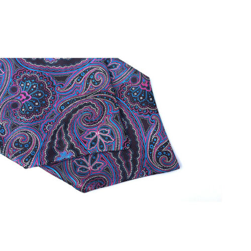 Mens Colorful Paisley Polka Dots Silk Tie Cravat Ascot Wedding Party Neckties