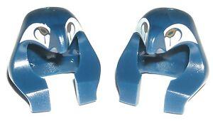LEGO 2 Egyptian Pharaoh MINIFIGURE HEADDRESS Dark Blue/Eagle/Bir<wbr/>d/Mummy/Helmet