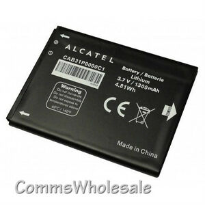 genuine alcatel one touch pop c1 pop c3 ot 4033a 4033x cab31p0000c1 battery. Black Bedroom Furniture Sets. Home Design Ideas