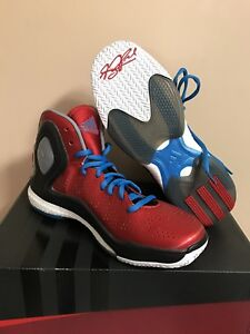 5054efc73c Image is loading NWB-Adidas-Derrick-Rose-5-Boost-Junior-Sneakers-