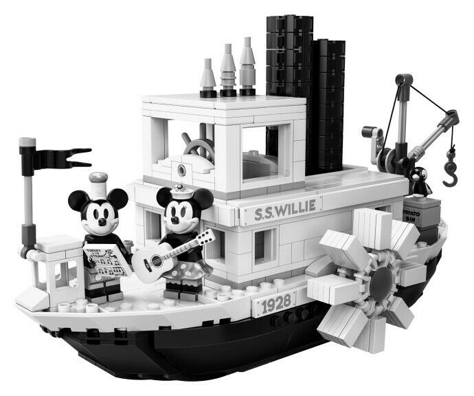 LEGO 21317 Ideas Steamboat Willie  NEU + OVP