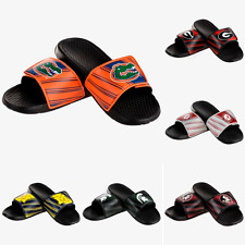 NCAA College Mens 2017 Legacy Sport Shower Slide Sandals Flip Flops -Choose Team