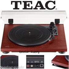 Teac TN-100 Turntable Vinyl Record Player w/ Preamp & USB Digital Output Cherry