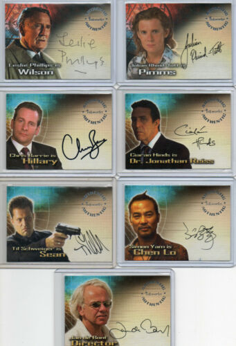 Tomb Raider /& Cradle Of Life Autograph Card Selection NM Inkworks