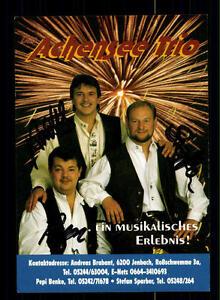 Das-Achensee-Trio-Autogrammkarte-Original-Signiert-BC-77302