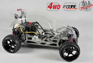 Fg Modellsport # 54050r Buggy Coccinelle Wb535 4wd Rtr Non Peint