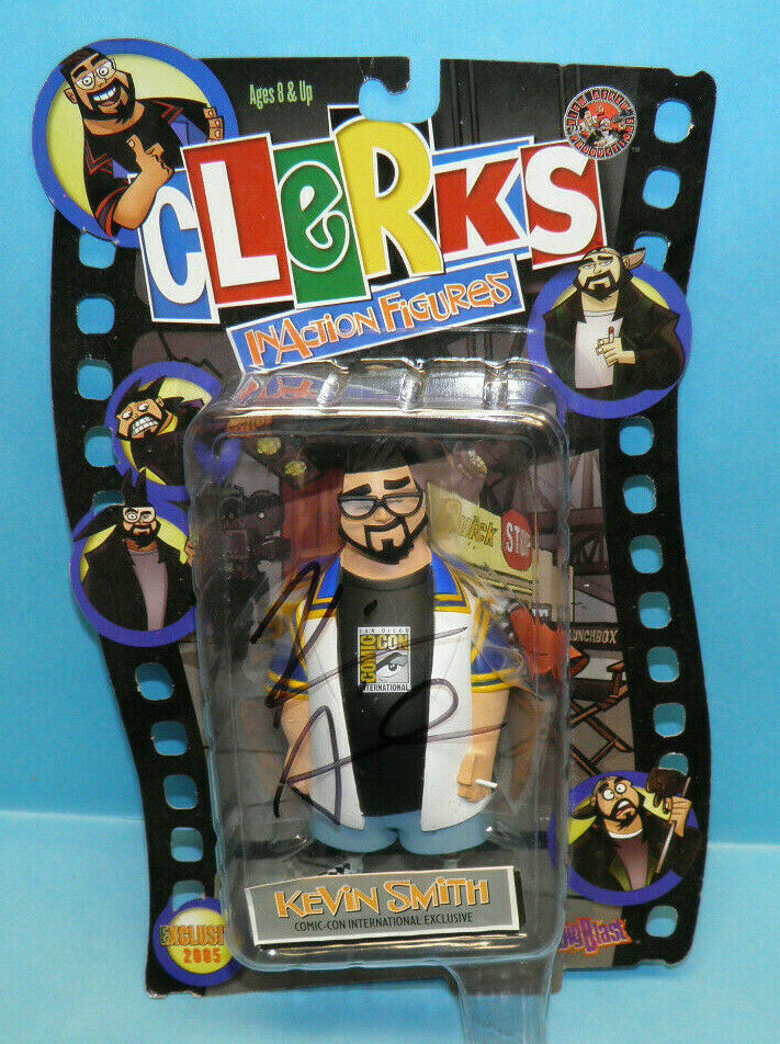 Graphitti Clerks Inaction Kevin Smith SDCC Comic Con International 2005 Signed