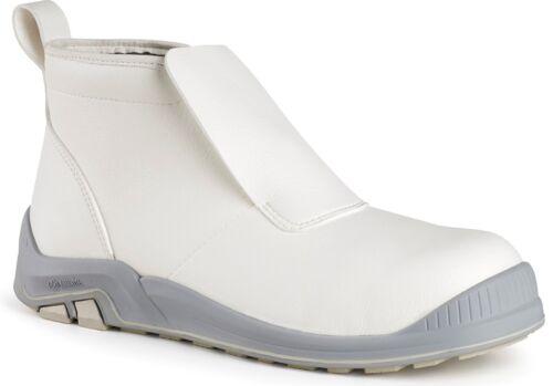 MENS SIZE 6.5 JALLATTE JALDAGGER WHITE FOOD SERVICE CATERING SLIP ON BOOTS JJ719