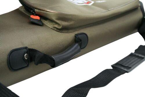 Rutenfutteral YORK Exclusive Hardcase Rutentasche Futteral 130-150cm 1//2 Fächer