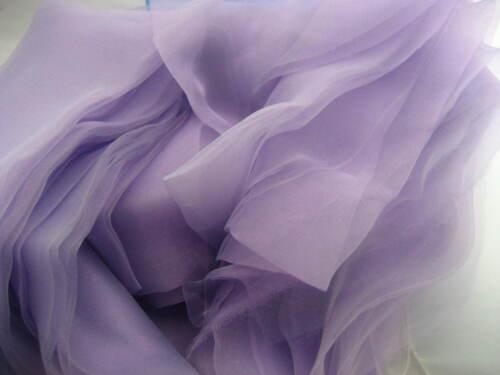 280cm wide lavender organza fabric wedding curtain drape decoration voile fabric