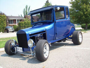 1927 FORD  MODEL T DOCTORS COUPE HIGHBOY HOT ROD