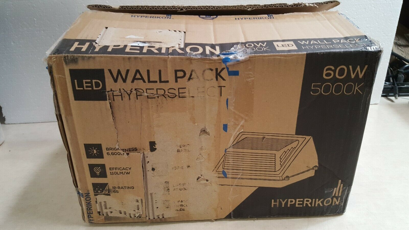 Hyperikon Hyperselect LED Wall Pack 60w 5000k