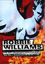 ROBBIE WILLIAMS POSTER WHAT WE DID LAST SUMMER