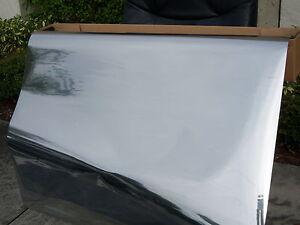 "Mirror Reflective Tint Silver 5/% 24/""x 10 Feet Window Film One Way Intersolar®usa"