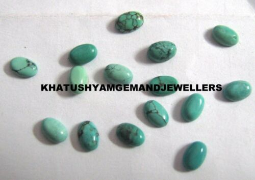 AAA Quality 10 Piece Natural Turquoise 13x18 MM Oval Loose Cabochon Gemstone