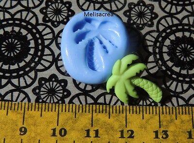 Mini Moule Silicone Palmier - pour fimo, résine, plâtre, porcelaine froide