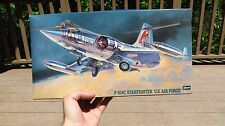 Hasegawa 1/48 Scale F-104C Starfighter 'U.S. Air Force' Model Kit Unopened