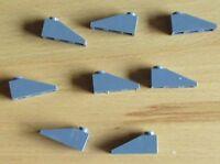 Lego Schräg - Dachsteine 1x3 in neu Dunkel Grau
