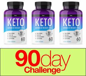 YUVA-ADVANCED-WEIGHT-LOSS-180-Capsules-Ketosis-Keto-Diet-Weight-Loss