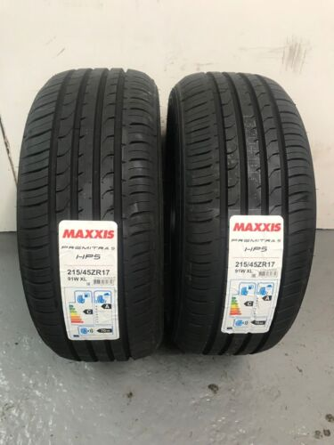 2 x 215/45 ZR17 Maxxis Premitra 5 HP5 91W XL 215 45 17 (2154517) - TWO TYRES