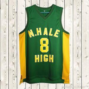 Wiz Khalifa #8 N Hale High Basketball Jersey