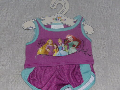 Build A Bear Disney Princess Sporty Set 2 Piece Outfit BABW NWT