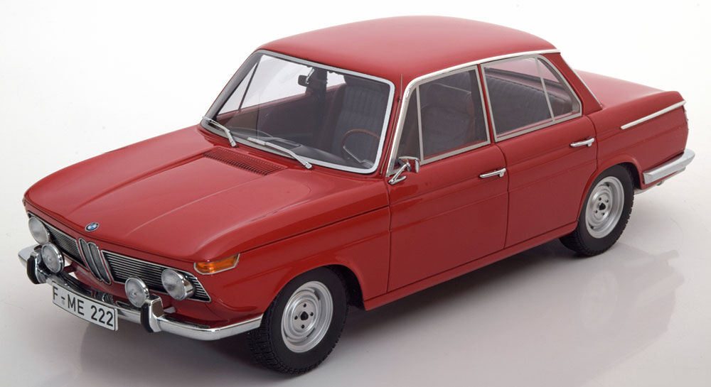 Minichamps 1965 BMW 1800 Ti Coloree rosso en escala 1 18.  Raro