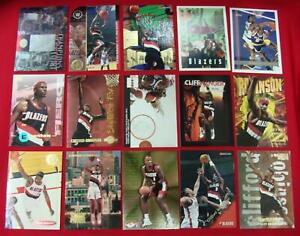 CLIFF-ROBINSON-15-DIFFERENT-BASKETBALL-CARDS-LOT-SOME-INSERTS