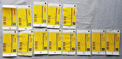 13x Rollenservicemarke Dhl Neu & Unbenutzt