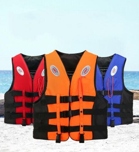 Adult Kids Life Jacket Kayak Ski Buoyancy Aid Vest Sailing Fishing Watersport