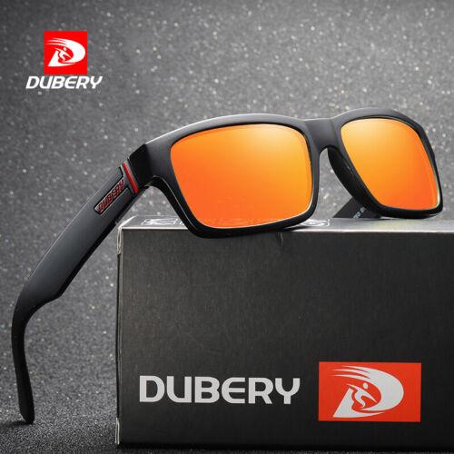 DUBERY Mens Womens Polarized Sunglasses Driving Eyewear Shades Retro Outdoor Hot