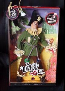 Barbie Mattel N6561 Épouvantail Wizard Of Oz Édition Rose Étiquette Vogelscheuche