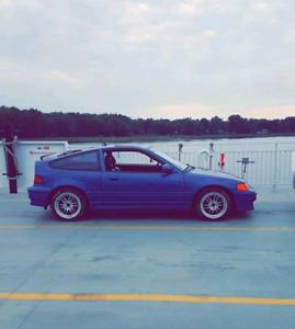 Honda crx 91