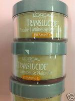 3 X L'oreal Translucide Naturally Luminous Loose Powder 960 Medium & Sealed