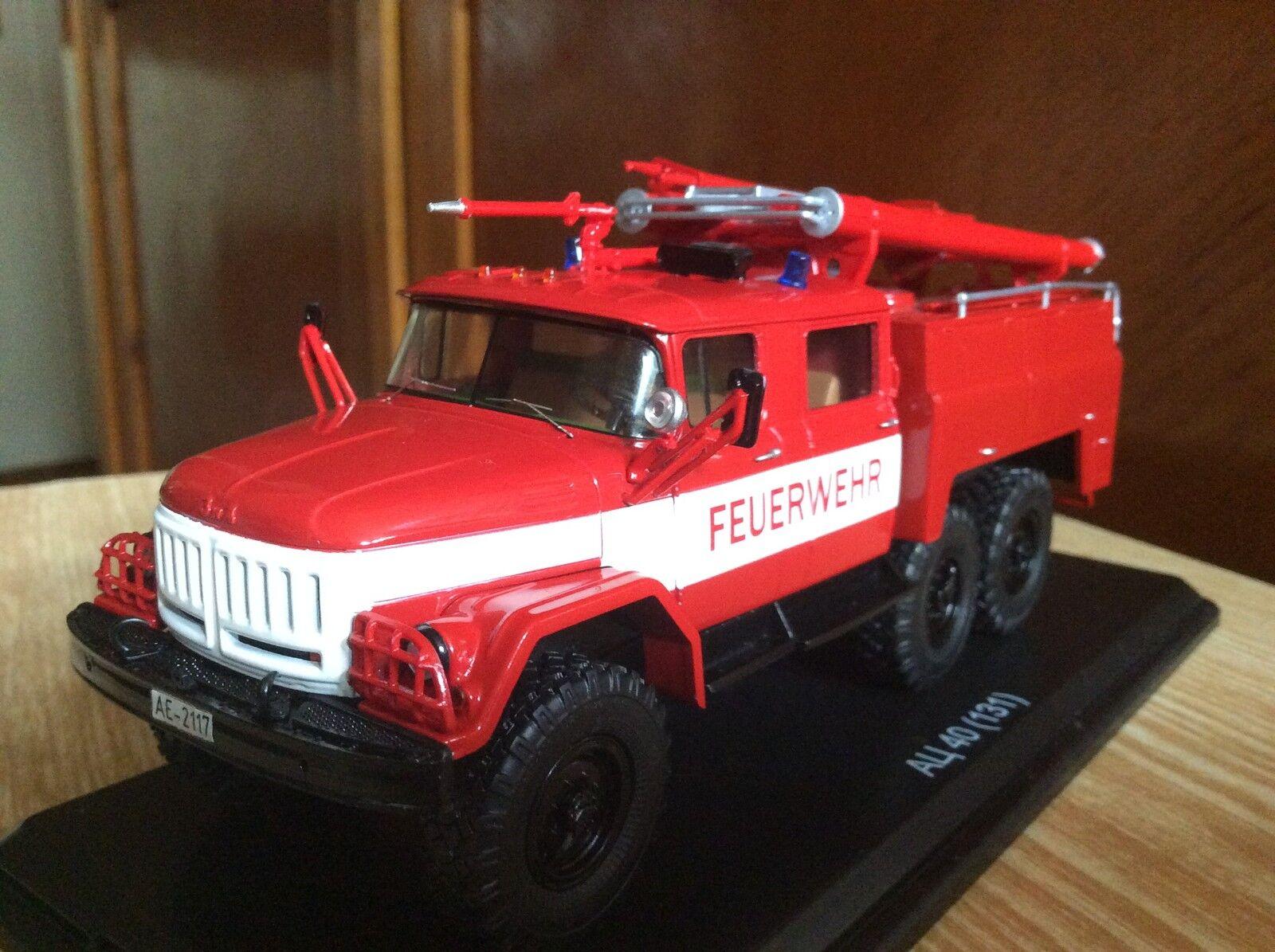 ZIL -131 AC-40 Fire fighting vehicle  1 43  USSR  pas cher en ligne