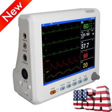 Portable Patient Monitor 6 Parameter Icu Ccu Vital Signs Amppediatrics Spo2 Probe