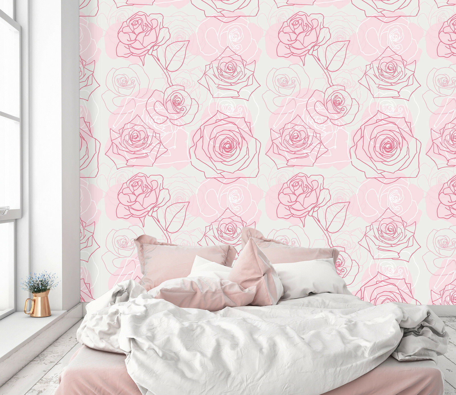 3D Abstract Pink pinks 3 Wallpaper Mural Wall Print Decal Indoor Murals AU Lemon