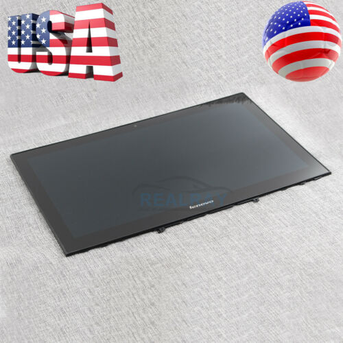 "Lenovo Yoga Y50-70 LCD 15.6/"" Touch Screen Digitizer Bezel 20349 Assembly New"