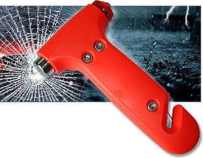 Car Glass Breaker Belt Cutter Tool Emergency Life-Saving Safety Hammer For Benz