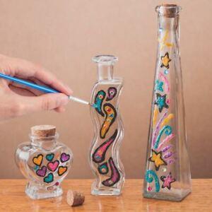 Bottle Painting Art Cylinder
