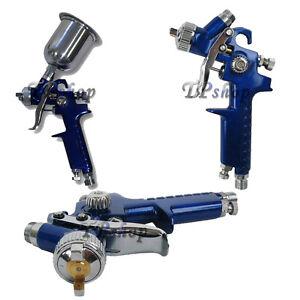 PISTOLA AEROGRAFO SPRAY GUN SERBATORIO VERNICIATURA PROFESSIONALE 125 ml h2000p