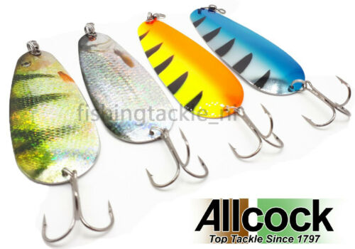 "Allcock Shannon 5/"" Spoon 50g Pike Trolling Fishing Lures Salmon Lure"