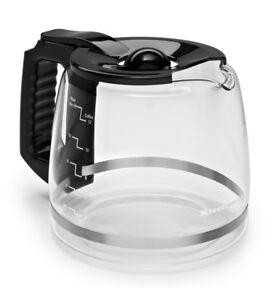 Genuine-KitchenAid-Replacement-Glass-Black-Onyx-12-Cup-Carafe-KCM11GC