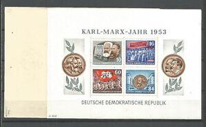 DDR-postfrisch-Marx-Block-9A-YI-tiefst-geprueft-Schoenherr-160