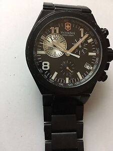 Swiss Army Victorinox Chrono Reloj, Watch Men Quartz