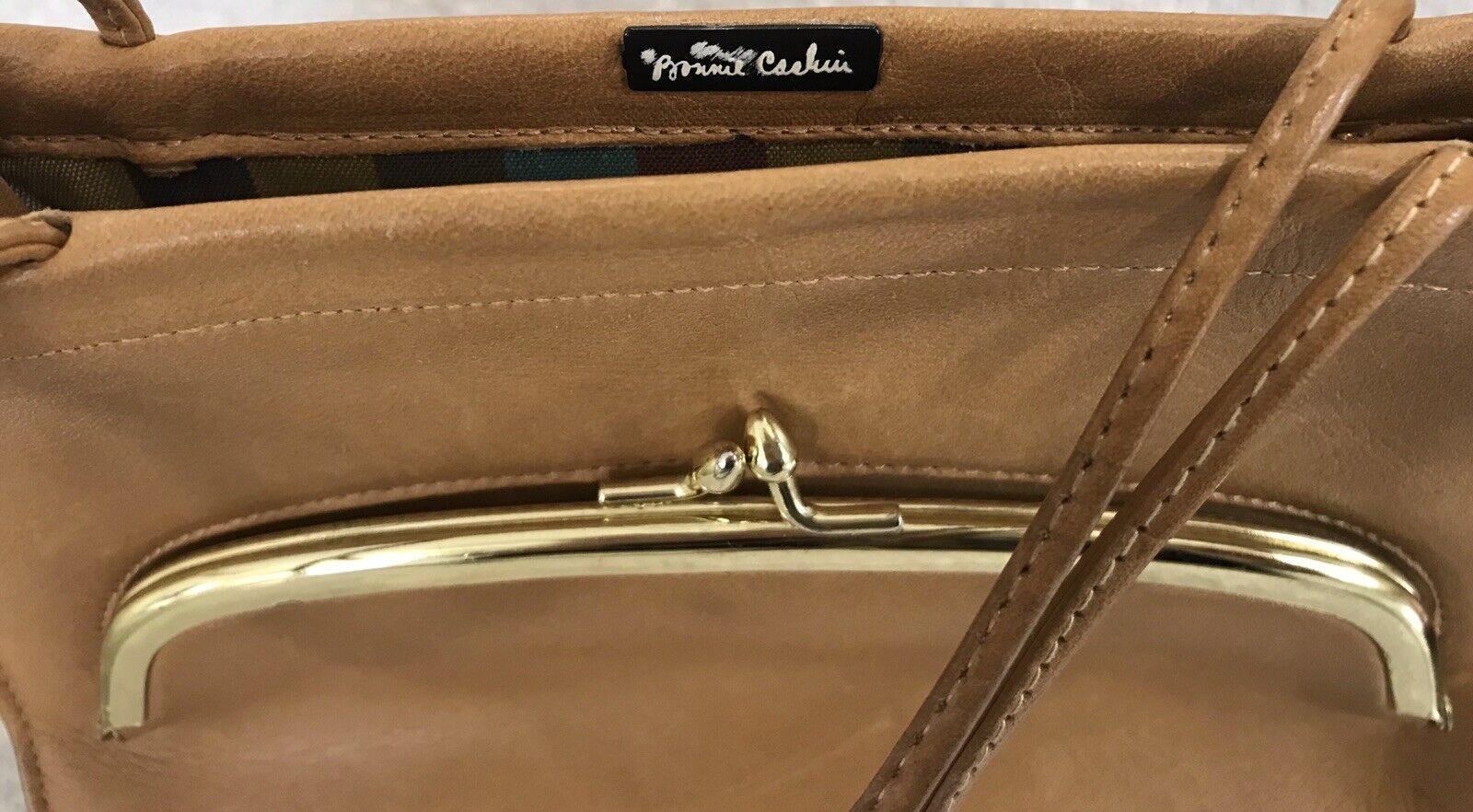 Vintage Coach Rare Leather Bonnie Cashin Stripe I… - image 3