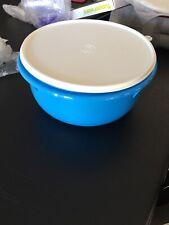 TUPPERWARE ALFRESCO IMPRESSIONS 1.3L BOWL ROYAL HYACINTH BLUE